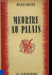 Meurtre Au Palais - Couverture - Format classique