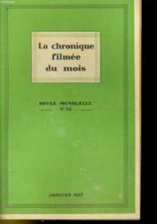 La Chronique Filmee Du Mois N°34 - Couverture - Format classique