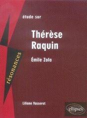 Zola ; thérèse raquin - Intérieur - Format classique