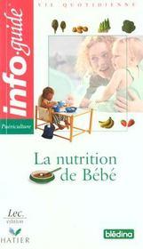 La nutrition de bébé - Intérieur - Format classique