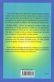 Mon Dieu La Dent Et Moi - 4ème de couverture - Format classique