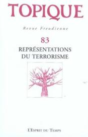 Representations Du Terrorisme N 83 2003 - Couverture - Format classique