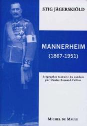 Gustaf Mannerheim (1867-1951) - Couverture - Format classique