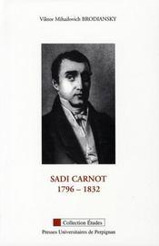 Sadi carnot, 1796-1832 - Intérieur - Format classique