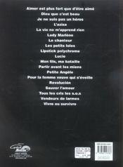 Balavoine ; l'essentiel - 4ème de couverture - Format classique
