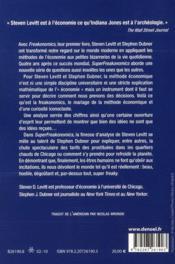 Super freakonomics - 4ème de couverture - Format classique