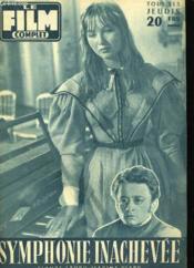 Film Complet N° 643 - Symphonie Inachevee - Couverture - Format classique
