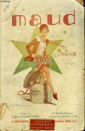 Maud Demoiselle De Cinema - Couverture - Format classique