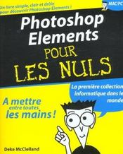 Vente livre :  Photoshop Elements  - Deke Mcclelland - G Fott