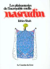 Vente  Plaisanteries De L'Incroyable Mulla Nasrudin  - Idries Shah