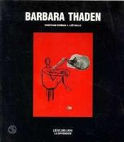 Barbara Thaden - Couverture - Format classique
