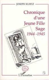Chronique d'une jeune fille sage 1944-1945 - Couverture - Format classique