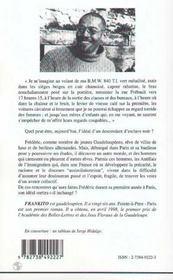 Pointe-A-Pitre Paris - 4ème de couverture - Format classique