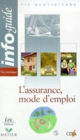 L'Assurance Mode D'Emploi - Couverture - Format classique