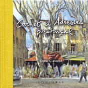 Carnet d'adresses provençal - Couverture - Format classique
