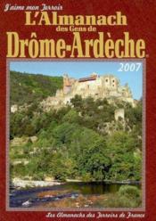 Almanach Des Gens De Drome Ardeche 2007 - Couverture - Format classique