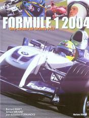 Formule 1 2004 - 4ème de couverture - Format classique
