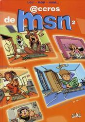 Accros de msn t.2 - Intérieur - Format classique