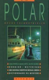 Revue Polar Numero 10 - Couverture - Format classique