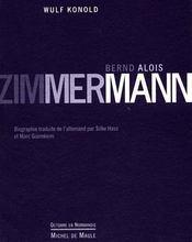 Bernd Alois Zimmerman - Intérieur - Format classique