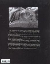 Camille claudel ; catalogue raisonne - 4ème de couverture - Format classique