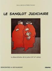 Sanglot Judiciaire (Le) - Couverture - Format classique