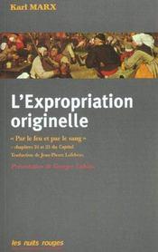 L'Expropriation Originelle - Intérieur - Format classique