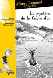 Le mystère de la cabre d'or - Couverture - Format classique