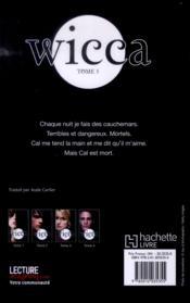 Wicca t.5 ; la boucle est bouclée - 4ème de couverture - Format classique