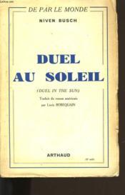 Duel Au Soleil. - Couverture - Format classique