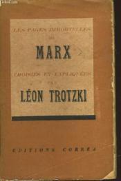 Les Pages Immortelles De Marx - Couverture - Format classique