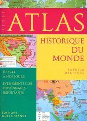 Petit Atlas Historique Du Monde (De 1944 A Nos Jours) - Intérieur - Format classique