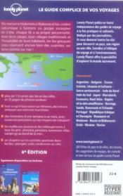 Iles grecques et athenes (4e edition) - 4ème de couverture - Format classique