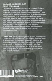 Oasis Pour L O A S - 4ème de couverture - Format classique