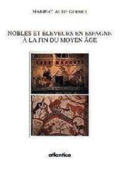 Nobles Et Eleveurs En Espagne A La Fin Du Moyen Age - Couverture - Format classique