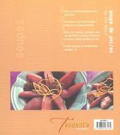 Soupes Chaudes Et Froides (Ou Sucrees Et Salees) - 4ème de couverture - Format classique