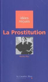 La prostitution - Intérieur - Format classique