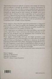 Contes Kabyles N.3 Le Fabuleux - 4ème de couverture - Format classique