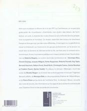 Les Cahiers De La Recherche Architecturale Et Urbaine N.2-3 ; Métiers - 4ème de couverture - Format classique