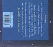 Le Petit Livre Des Reves - 4ème de couverture - Format classique