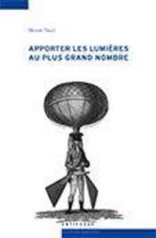 Apporter les lumières au plus grand nombre ; médecine et physique dans le journal de Lausanne (1786-1792) - Intérieur - Format classique