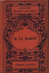 Monsdieur Le Baron - Couverture - Format classique