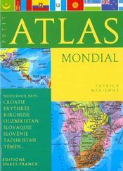 Petit Atlas Mondial - Intérieur - Format classique