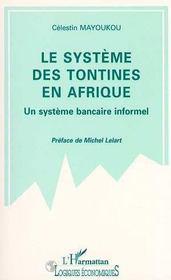 Le Systeme Des Tontines En Afrique - Intérieur - Format classique