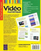 Video Numerique - 4ème de couverture - Format classique