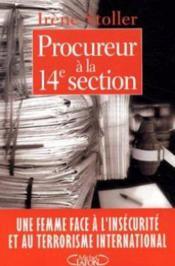 Procureur A La 14e Section - Couverture - Format classique