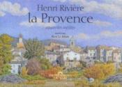 Henri Riviere La Provence - Couverture - Format classique