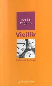 Vieillir - Intérieur - Format classique