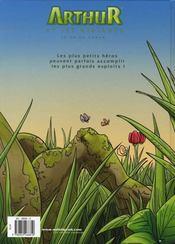 Arthur et les minimoys t.1 - 4ème de couverture - Format classique