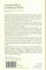 Palmier Et L'Etoile (Le) - 4ème de couverture - Format classique